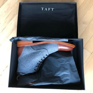 Taft Shoes - The Jack Boot by Taft Clothing - Grey/Brown